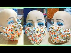 TUTORIAL: MASCARILLA tapabocas con reciclaje - YouTube Diy Sewing Projects, Sewing Hacks, Diy Mask, Diy Face Mask, Sewing Clothes, Diy Clothes, Psoas Iliaque, Coin Couture, Crochet Mask