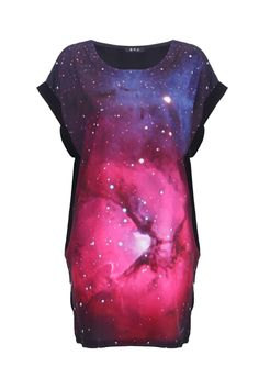 Starry Front Loose T-shirt