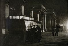 London in the 1920's-all night coffee stall, Hyde Park Corner