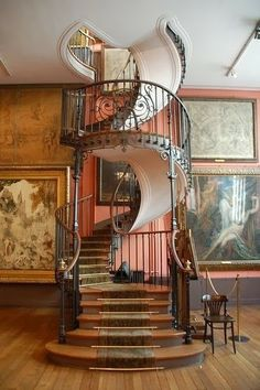 Stunning depictions of Staircases - Part 5 -