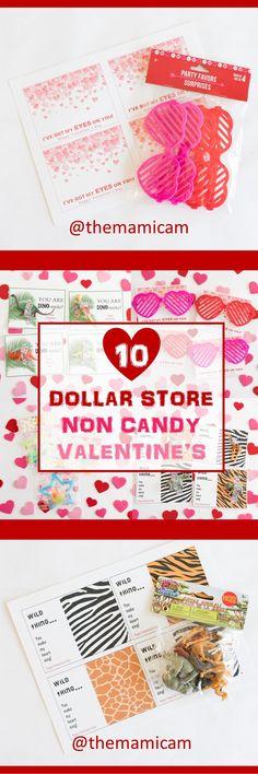 Dollar Store - Non candy Valentine's - Valentine's day - Valentine;s gifts - Valentine's kids - DIY Valentine's - Blog post - Dallas blogger - @themamicam / Valentina Meza - Kohnenkampf