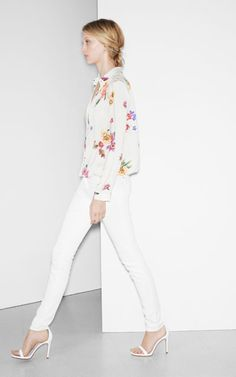 LACE AND FLOWER COMBINATION SHIRT - Shirts - TRF | ZARA United Kingdom Flower Laced Shirt #nicefashion #FlowerLacedShirt #kathyna257892  #Flower #Laced #Shirts  www.2dayslook.com