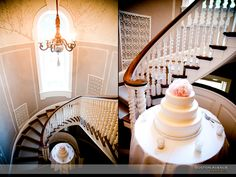 McLean House staircase and wedding cake setup House Staircase, Opposites Attract, Cake Table, Engagement Shoots, Boston, Wedding Cakes, Wedding Decorations, The Incredibles, Weddings