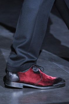 ♂ man's fashion wear shoes dolcegabbana-mens-details-autumn-fall-winter-