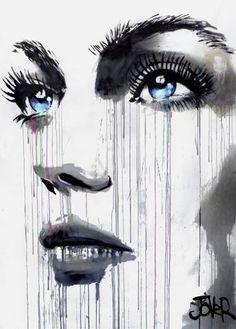 """Saatchi Art Artist Loui Jover; Painting, """"face (monumental)"""" #art"""