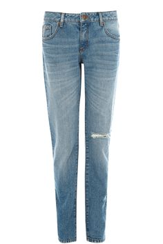 Denim | Denim Slash Girlfriend Jean | Warehouse