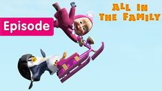 Masha i Medved 2018 new series English All in The Family Episode 32 and cereal full episodes on Wo-Game.Com