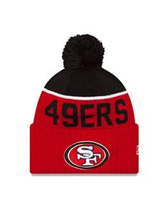 438f651e5935d San Francisco 49ers Cuffed Knit Hats New Era Beanie
