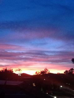 Gorgeousness of dusk