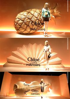 Chloe windows at Printemps Paris. Tomado de: http://retaildesignblog.net/2013/02/18/chloe-windows-at-printemps-paris/