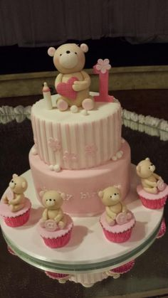 Bears and cakes
