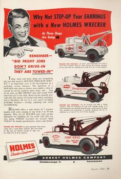 56 Ford Truck, Tow Truck, Boy Toys, Toys For Boys, Vintage Comics, Vintage Ads, Wrecking Yards, Motorcycle Trailer, Chevy Pickups