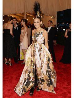 Sarah Jessica Parker at the Met Gala 2013