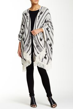 Open Front Batwing Cardigan by Romeo & Juliet Couture on @HauteLook