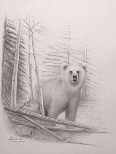 "Limited Edition Print ""Grizzly Habitat"" (Unframed) Wildlife Art E-ArtDesign.US http://www.amazon.com/dp/B00I0F0VAQ/ref=cm_sw_r_pi_dp_wa08vb1PVRTKQ"