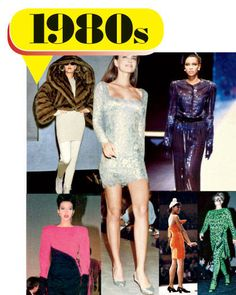 1980's fashion trends | 02 1980s a - 25 Years of the Biggest Fashion Trends and Designers ...