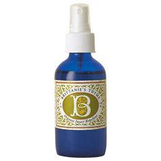 Brittanie's Thyme Organic Insect Repellent - has clove, eucalyptus, rose geranium, peppermint, and tea tree essential oils