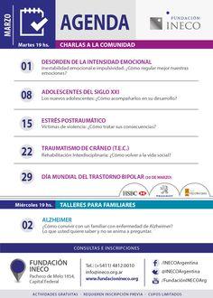 Agenda Marzo - Fundación INECO
