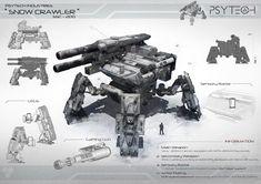 Snow Crawler by johnsonting on deviantART