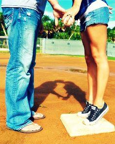 Jamie Cormier Photography: Me+You=Love Baseball Couples, Cute Couples, Baseball Softball Couple, Softball Wedding, Baseball Girlfriend, Softball Quotes, Couple Photography, Engagement Photography, Photography Ideas