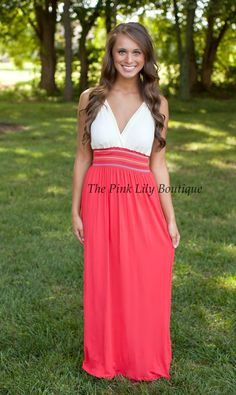 The Pink Lily Boutique - Keep Me Next To You Maxi, $38.00 (http://thepinklilyboutique.com/keep-me-next-to-you-maxi/)