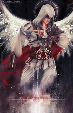 Assassin's Creed - Ezio by FalseDelusion on DeviantArt