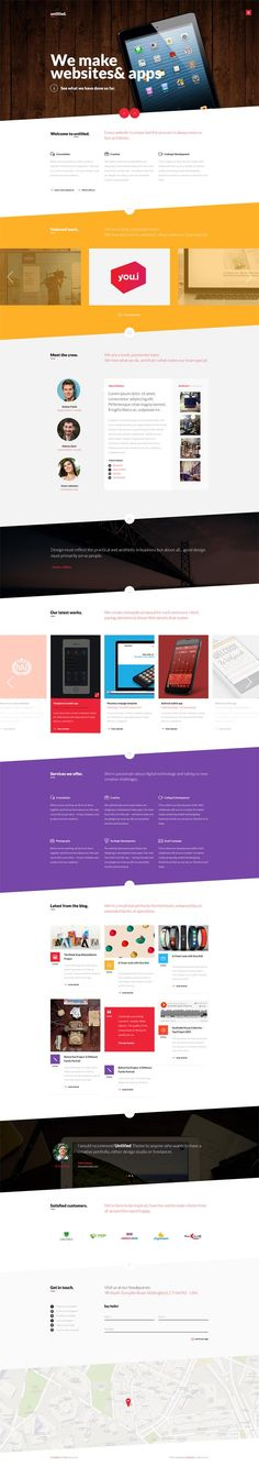 Untitled : Onepage Parallax PSD Template
