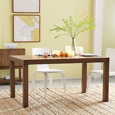 """Overall product dimensions: 60""""w x 36""""d x 30""""h.  • Thickness of tabletop: 3"""".  • Comfortably seats up to: 6.  • Clearance under table: 27""""."""