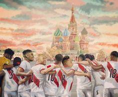 Síguenos @asieselfutbol.pe  Ahora si nos vamos todos a Rusia.  arte: @bubbycrosbyart #PreparadosParaTodo #SeleccionPeruana #Perú #FPF #Guerrero #WorldCup #Rusia2018 #ASIESELFUTBOL