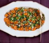 Spicy Carrot and Green Lentil Salad