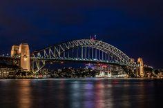 #Sydney #Harbour #Bridge At Night. #australia