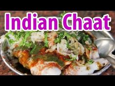 Indian Street Food Chaat at Kashi Chaat Bhandar in Varanasi, India - http://www.youtube.com/watch?v=REyKzHuoNH8