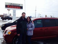 2009 Dodge Grand Caravan - Happy Couple!