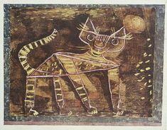 Tomcat, 1923. By Paul Klee.