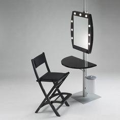 Cantoni Romania Make-up corners Make Up Studio, Makeup Store, Makeup Salon, Glam Room, Green Rooms, Makeup Case, Drafting Desk, My Room, Beauty Secrets