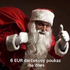 6 EUR darčekový poukaz na stevula.sk iba dnes na Mikuláša