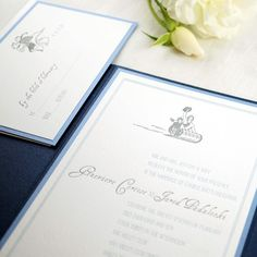 Letterpress Sun Valley Winter Wedding Invitation with light blue color backer // vintage sleigh ride design for wedding invitation // Mountain wedding invitation Letterpress Wedding Stationery, Mountain Wedding Invitations, Light Blue Color, Paper, Sun Valley, Instagram Posts, Cards, Design, Vintage