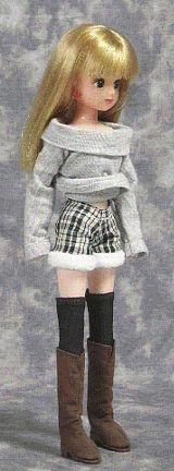 "Диаметр кромка шорты (Рика-тян) ""Papupepo"" ручной одежды, как сделать платье-куклу"
