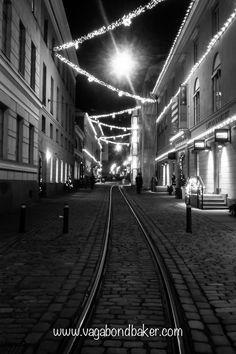 Helsinki at night, even more beautiful
