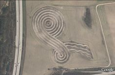 The Most Interesting Places Visible From The Satellite Places, Lugares