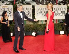 George Clooney et Stacy Keibler