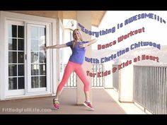 "Dance workouts good for indoor recesses or in-class PE. Tegan and Sara ""Everything Is AWESOME!!!"" - Dance Workout with Christina Chitwood"