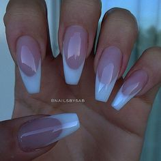 french nails for wedding Purple - french nails for weddin. french nails for wedding Purpl. French Manicure Acrylic Nails, Best Acrylic Nails, Manicure And Pedicure, White Tip Nails, Gel Nail, Uv Gel, Coffin Nails, Pedicures, Fancy Nails