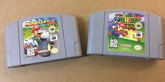 Mario Kart 64 + Super Mario 64 (Nintendo 64, N64 LOT) Carts Only - Tested