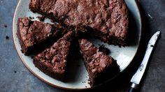 Aubergine and Chocolate Cake