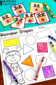 Fun Christmas centers for Kindergarten! Get them now and use them all month!