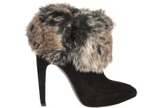 My ankles feel snuggly already in these Via Spiga Booties