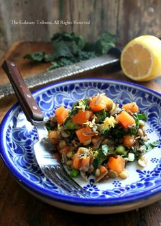 Persimmon and Wild Rice Salad