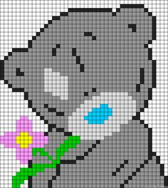 Me to you bear perler bead pattern