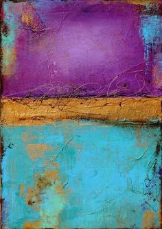 Jewels of the Nile by ERIN ASHLEY  http://www.erinashleyart.com/Site/Welcome.html #abstract #painting